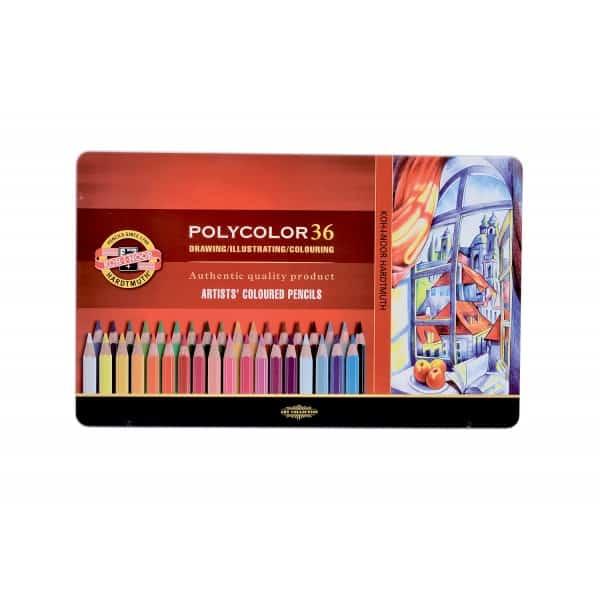 Koh-I-Noor polycolor kleurpotloden, 48 stuks