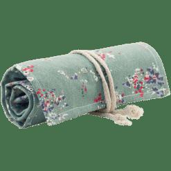 canvas roletui groen pruimen